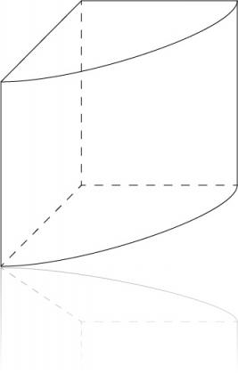 Akwarium rogowe - szkic